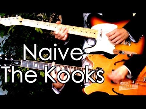 Naive - The Kooks ( Guitar Tab Tutorial & Cover )