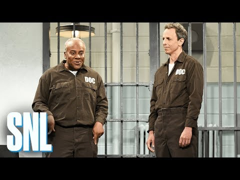 Jail Cellmate - SNL: A new prisoner (Seth Meyers) meets his cellmate (Kenan Thompson).  #SNL #SNL44 #SethMeyers #PaulSimon  Subscribe to SNL: https://goo.gl/tUsXwM  Get more SNL: http://www.nbc.com/saturday-night-live Full Episodes: http://www.nbc.com/saturday-night-liv...  Like SNL: https://www.facebook.com/snl Follow SNL: https://twitter.com/nbcsnl SNL Tumblr: http://nbcsnl.tumblr.com/ SNL Instagram: http://instagram.com/nbcsnl SNL Pinterest: http://www.pinterest.com/nbcsnl/
