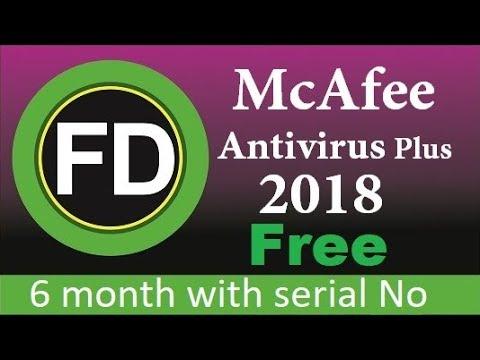 mcafee antivirus plus 2018 full version free download
