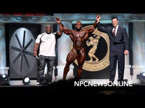 2016 Arnold Men's Bodybuilding Top 6 Awards Presentation