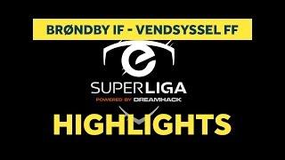 eSuperliga: Højdepunkter fra sejren over Vendyssel FF | brondby.com