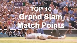 Top 10 Grand Slam Match Points (2000-2017)