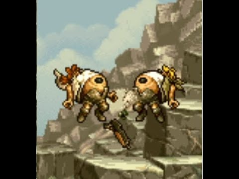 Metal Slug 3 - Fio and Eri inflation and burst open into vine tentacles from a spore!