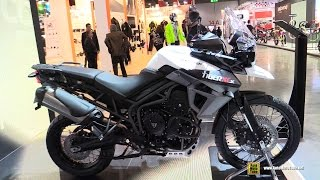 2015 Triumph Tiger 800 XC-X - Walkaround - 2014 EICMA Milan Motorcycle Exhibition