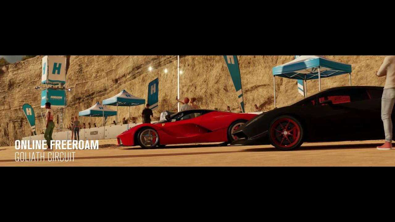 Forza Horizon 3 Xbox One Goliath Circuit Sesto Elemento