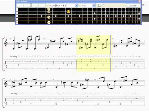 2NE1 - Lonely [Guitar Pro Tab]
