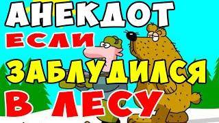 АНЕКДОТ про Мужика и Медведя в Лесу Самые смешные свежие анекдоты