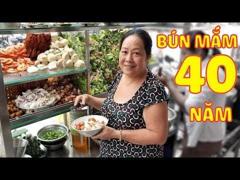 Quán Bún Mắm Hơn 40 năm Nổi Tiếng Quận 6 Sài Gòn   Saigon Travel