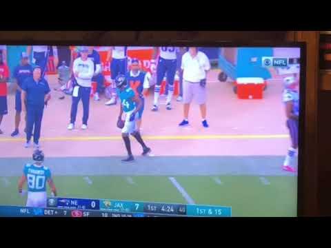 Keelan Cole One Handed Catch Jaguars vs Patriots 9-16–2008