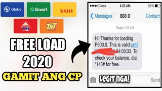 free P500 pesos load 2020|free load|how to earn free load|free load website|free load apps 2020