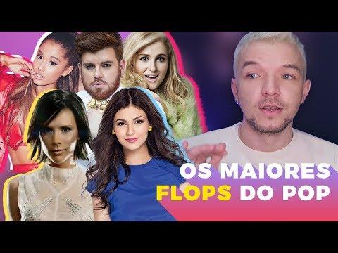 OS MAIORES FLOPS DA MÚSICA POP