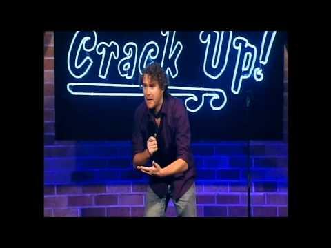 Alan McElroy on Maori TV's 'Crack Up'