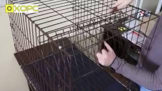 Складная клетка для собак, кошек