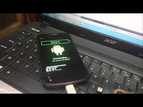 samsung galaxy nexus i9250 flash with odin