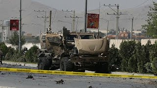 Car bomber hits NATO convoy in Kabul
