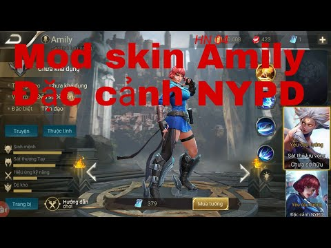 Mod skin Amily Đặc cảnh NYPD