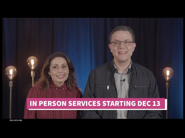 In-Person Services Starting 13th December