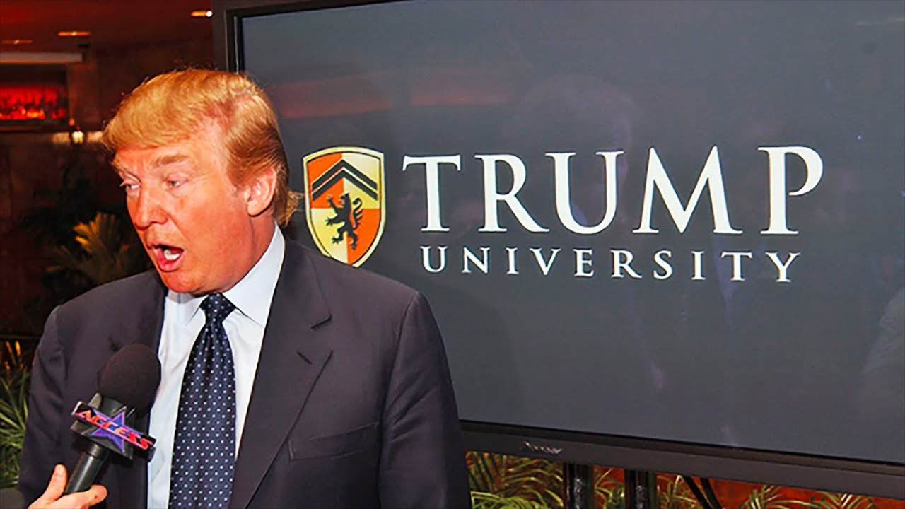 Judge Makes Trump Pay For Trump University Scam - YouTube