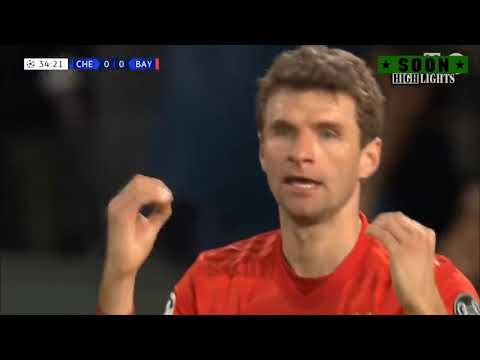 Обзор матча Челси 0-3 Бавария Лига Чемпионов  25.02.2020