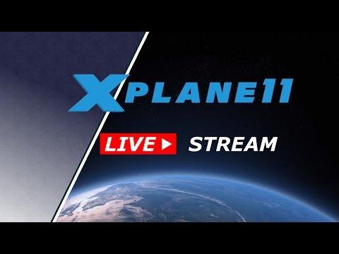 X-Plane 11 ✈️ | LIVESTREAM Weltreise #05 Mount Everest |  Deutsch German