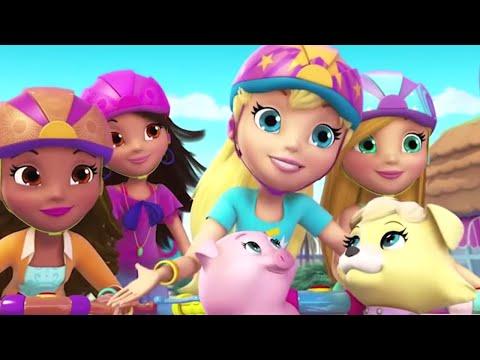 Polly Pocket em Português Brasil 💜❄️Zoo La La💜❄️Desenhos animados dos miúdos