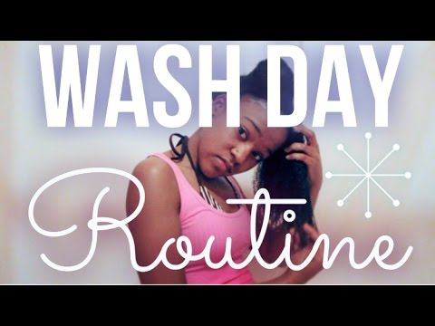 Wash Day Routine for Long 4c Natural Hair (2016)