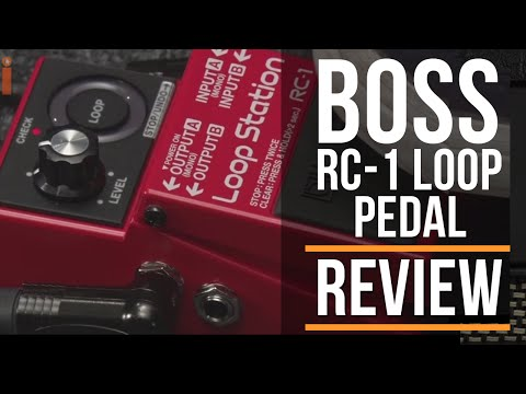 BOSS RC-1 Loop Station Pedal Review   Guitar Ineractive Magazine