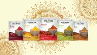 Royal Saffron Masale - Heritage Of Taste (Marathi)
