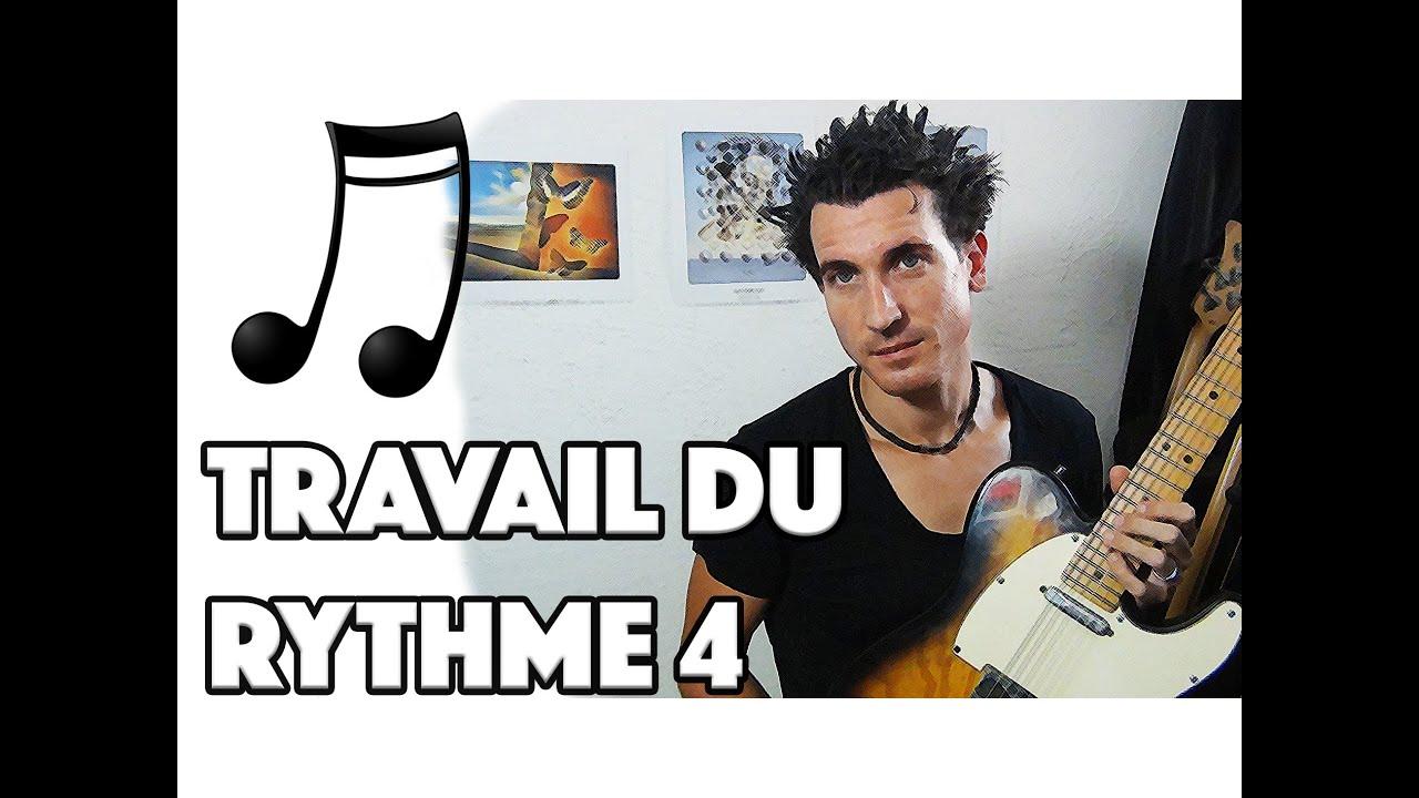 TRAVAIL DU RYTHME 4 - LE GUITAR VLOG 083