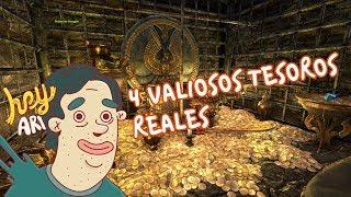 4 valiosos tesoros reales que están esperando a que los robes - Hey Arnoldo