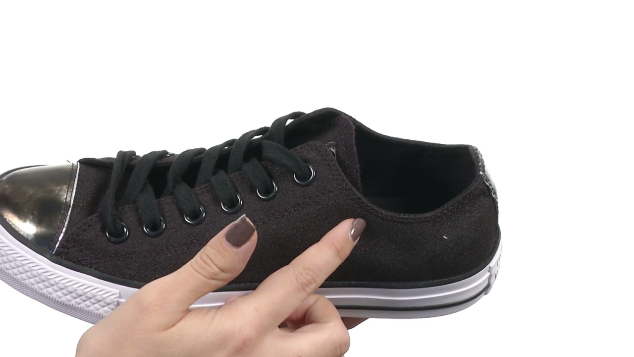 e35499369ad1 Converse Chuck Taylor® All Star® Brush-Off Leather Toecap Lo SKU 8752128