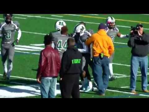 2016 North Hartford Hawks vs Milford Mill Academy Millers Playoff Football Game