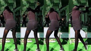 부산 미녀 스마일골퍼 허은지 KLPGA 프로의 스윙!!…