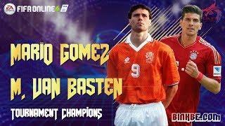 FIFA Online 4   Trải nghiệm Mario Gomez & Van Basten TC ở rank thách đấu
