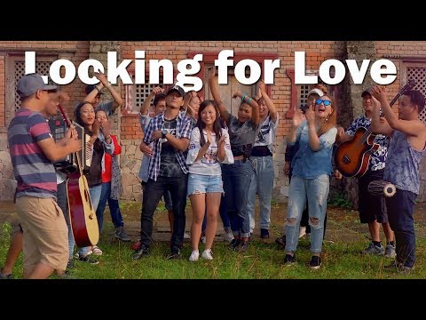 Looking for love, lively and happy new nepali hit song of Abhaya and the Steam Injuns viral video