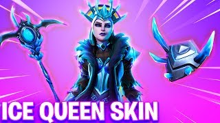 NEW Fortnite Skin THE ICE QUEEN! – FEMALE ICE KING & NEW ICE SPHERE EVENT! (Fortnite Battle Royale)