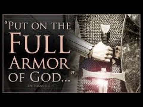 """MESSAGE FOR """"THE LORD'S DAY"""" ON OUR SPIRITUAL ARMOR AND WEAPONRY"""
