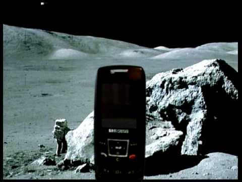Samsung sgh e250 na księżycu - chodzący e250