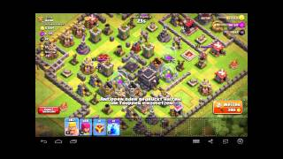 Let's Play Clash of Clans // DrachenAngriff + Bogenturm vs. Bogenschütze