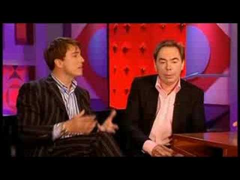 JB and Lord Webber on Friday Night with Jonathan Ross