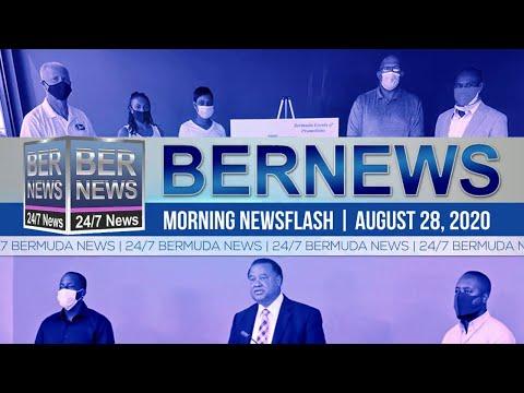 Bermuda Newsflash For Friday, Aug 28, 2020