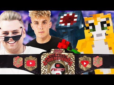 N60 Tag Team Titles | Stampy & iBallisticsquid vs. Jake Paul & Nick Crompton | WWE 2K18