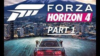 Forza Horizon 4 Gameplay Walkthrough Part 1 - SUMMER