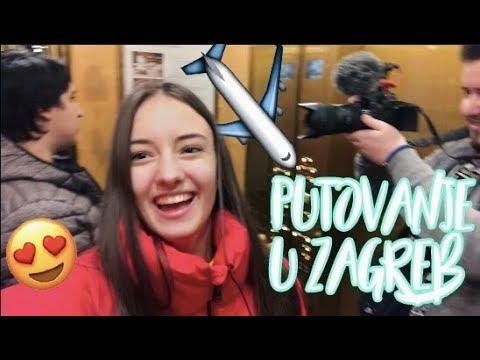 VLOGMAS 1- PUTOVANJE U ZAGREB