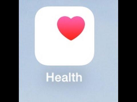 iOS iPhone HEALTH APP TUTORIAL - YouTube