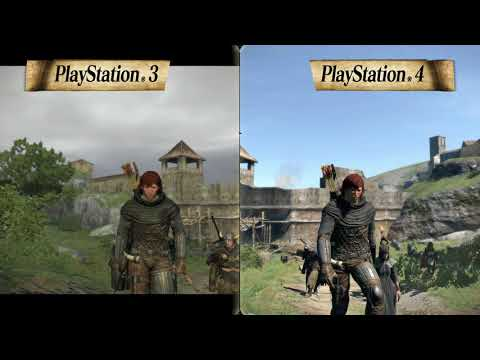 Dragon's Dogma: Dark Arisen - Comparison Video #1