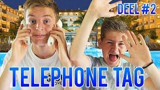 VAST IN HOTEL & MEVROUW WORDT BOOS! - TELEPHONE TAG DEEL 2 - GLOWMOVIES