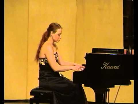 Liszt: Paganini Etude; Regina Chernychko, piano