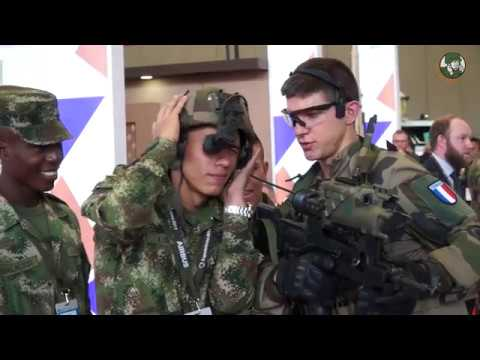 GICAT French Defense Industry Pavilion at Expodefensa 2017 in Bogota Colombia