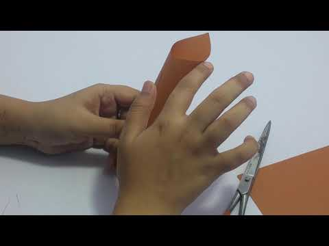 DIY /  how to make paper cone / handmade craft